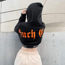 Kinky Cloth 200000348 Kpop Letter Print Hoodies