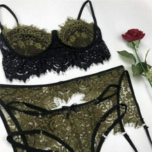 Kinky Cloth Lingerie Lace Nightwear Bra & Brief Set