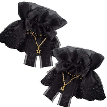 Kinky Cloth Accessories Black / One Size Lolita Lace Cuffs
