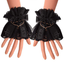 Kinky Cloth Accessories Lolita Lace Cuffs