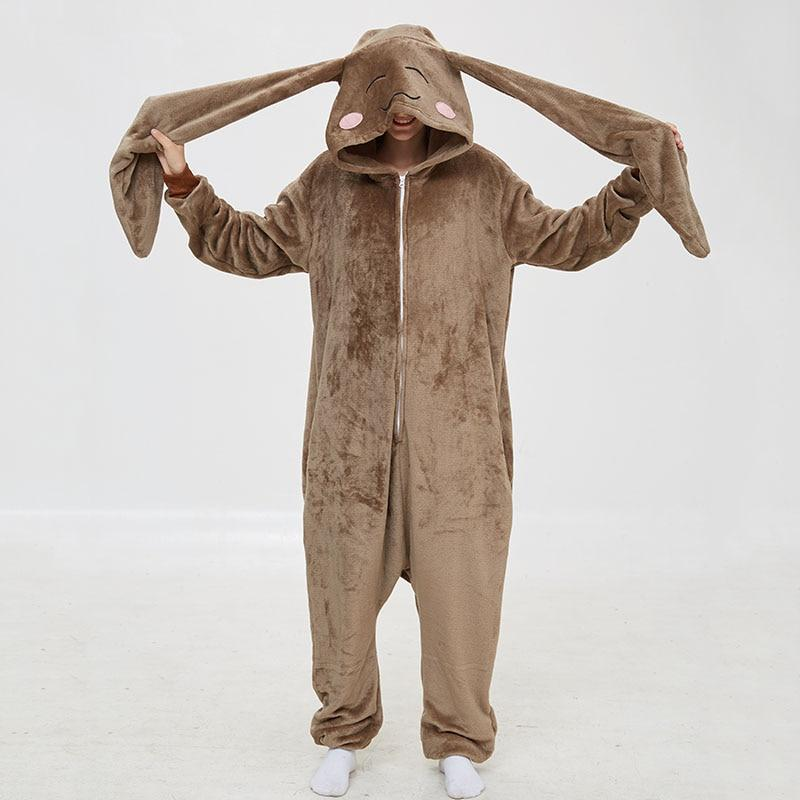 Kinky Cloth 200003497 long Rabbit / L Long Ears Rabbit Onesie
