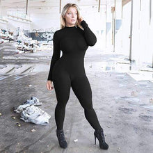 Kinky Cloth Black / L Long Sleeve Full Bodysuit