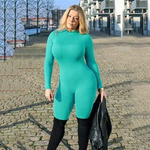 Kinky Cloth Green / L Long Sleeve Full Bodysuit