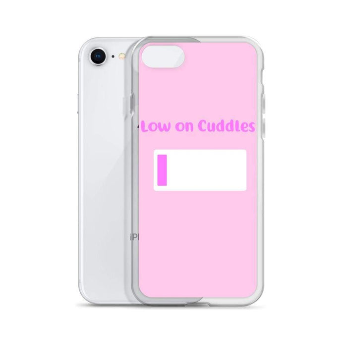 Kinky Cloth Low On Cuddles iPhone Case