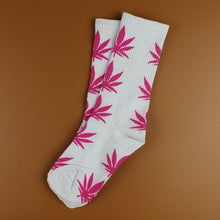 Kinky Cloth 19 Marijuana Leaf Ankle Socks
