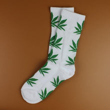 Kinky Cloth 21 Marijuana Leaf Ankle Socks