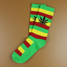 Kinky Cloth 32 Marijuana Leaf Ankle Socks