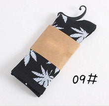 Kinky Cloth Socks 09 Marijuana Leaf Ankle Socks