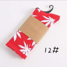 Kinky Cloth Socks 12 Marijuana Leaf Ankle Socks