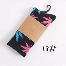 Kinky Cloth Socks 13 Marijuana Leaf Ankle Socks