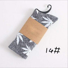 Kinky Cloth Socks 14 Marijuana Leaf Ankle Socks