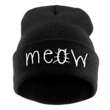 Kinky Cloth accessories Black Meow Beanie