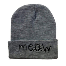 Kinky Cloth accessories Grey Meow Beanie