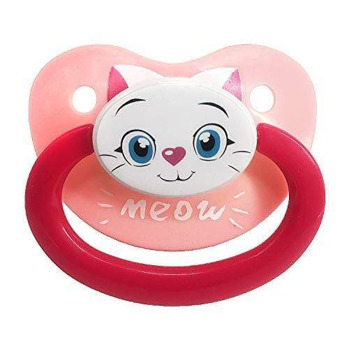 Kinky Cloth 200002052 Meow Kitty Adult Baby Pacifier