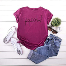 Kinky Cloth T-Shirt Wine Red / L Meow T-Shirt