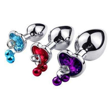 Kinky Cloth Accessories Set-multi color Metal Plug with Leash