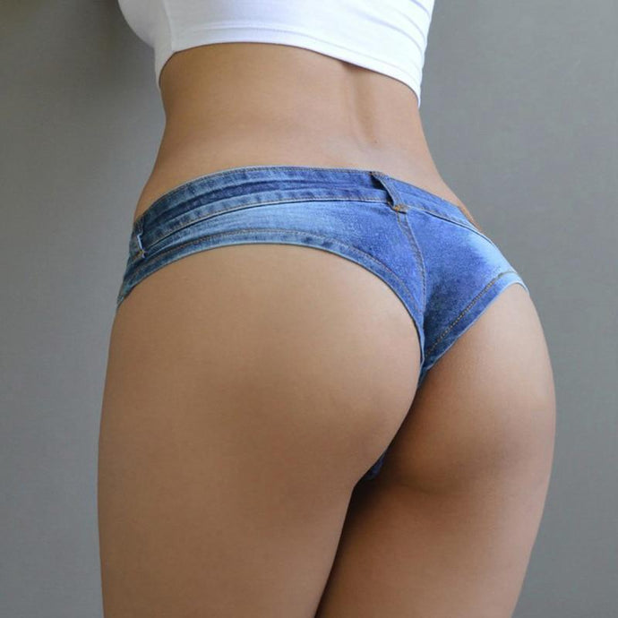 Kinky Cloth Lingerie Micro Jean Shorts
