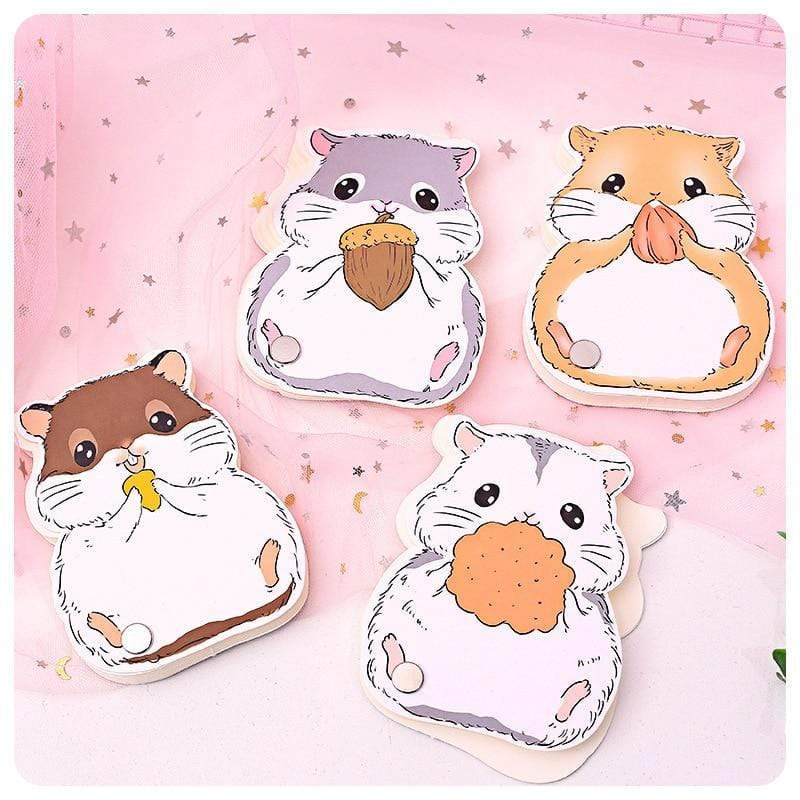 Kinky Cloth 211105 Mini Hamster Kawaii Notebook