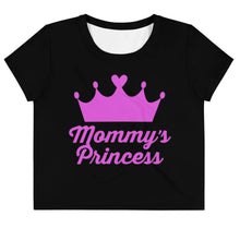 Kinky Cloth XS Mommy's Princess Pink Crop Top Tee