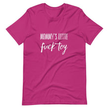 Kinky Cloth Berry / S Mommys Little Fuck Toy T-Shirt