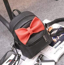 Mouse Ears Bow Backpack at Kinky Cloth