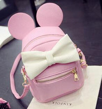 Kinky Cloth backpack Style 2 Pink Mouse Ears Bow Backpack