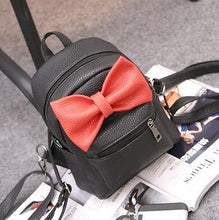 Kinky Cloth Bags & Wallets 4 style black Mouse Ears Bow Backpack