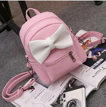 Kinky Cloth Bags & Wallets 4 style Pink Mouse Ears Bow Backpack