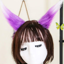 Kinky Cloth 200003991 Multicolor Fluffy Plush Anime Hair Clips