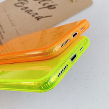Load image into Gallery viewer, Neon Fluorescent iPhone Case