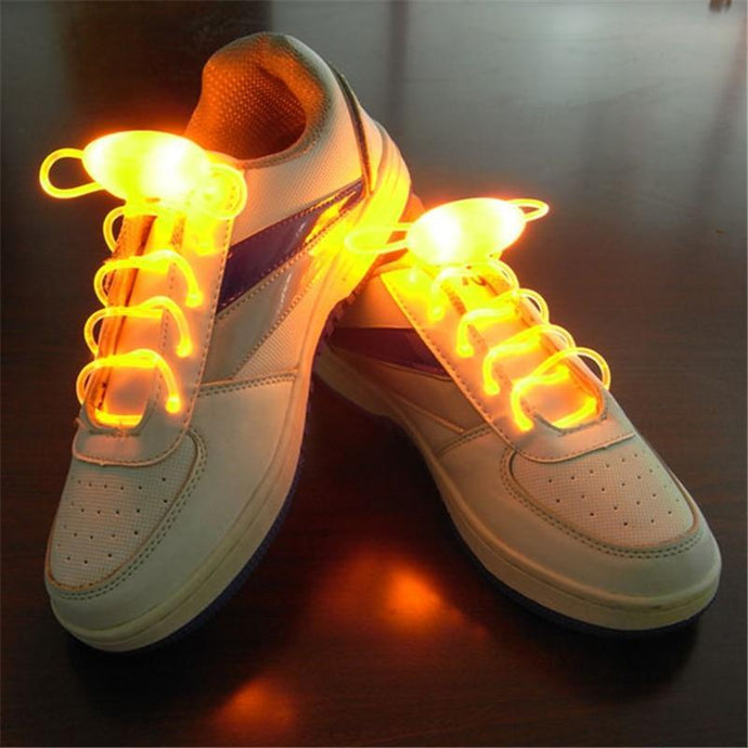Kinky Cloth Green Neon LED Glowing Shoe Laces