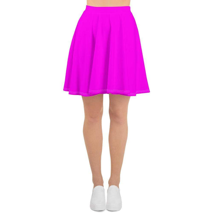Kinky Cloth XS Neon Pink Skater Skirt