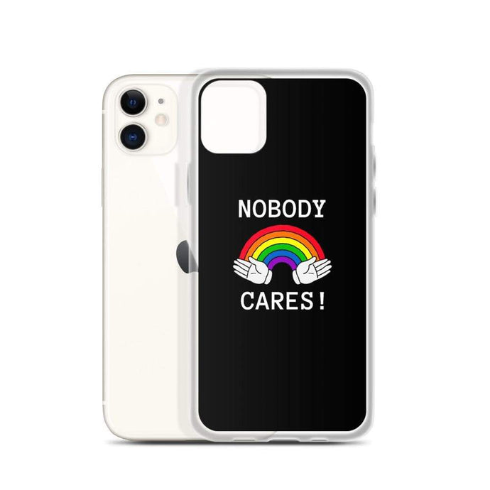 Kinky Cloth Nobody Cares IPhone Case