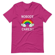 Kinky Cloth Berry / S Nobody Cares T-Shirt