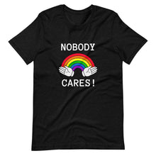 Kinky Cloth Black Heather / XS Nobody Cares T-Shirt