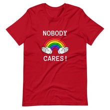 Kinky Cloth Red / S Nobody Cares T-Shirt