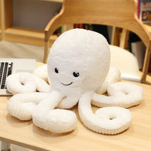 Kinky Cloth Stuffed Animal White / 18CM Octo Squid Stuffie