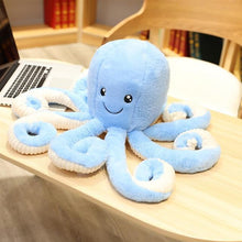 Kinky Cloth Stuffed Animal 60CM / Sky Blue Octopus Stuffie