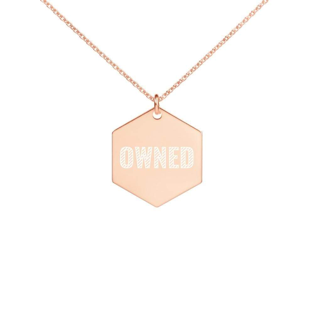 Kinky Cloth 18K Rose Gold coating Owned Necklace