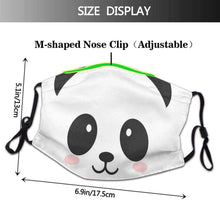Kinky Cloth 200001255 Panda Face Mask