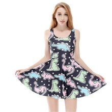 Kinky Cloth Dresses Dinosaur / S Pastel Dinosaur Dress