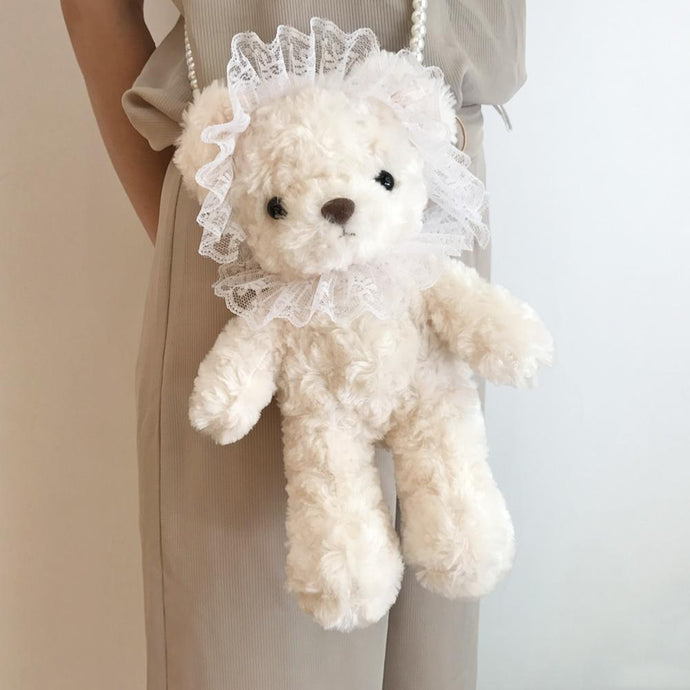 Kinky Cloth 200001420 Pearl Shoulder Straps Teddy Bear