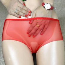 Kinky Cloth Red / L Peep Show Panties