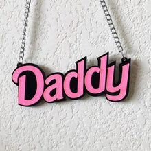 Kinky Cloth Necklace Pink Daddy Necklace Classic Style