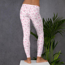 Kinky Cloth Pink Panda Heart Leggings