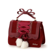 Kinky Cloth Bags & Wallets Pom Pom Lolita Purse