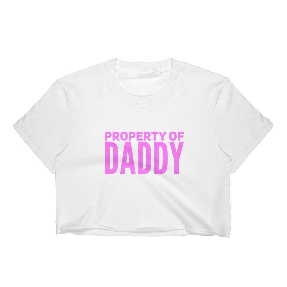 Kinky Cloth T-Shirt- S / Blue Property Of Daddy Top