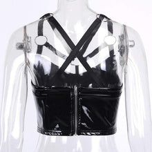 Kinky Cloth 200000790 PU Leather Camis Tank Top
