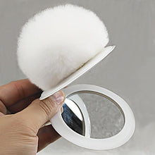 Kinky Cloth 200000174 Color 1 Puff Ball Mirror Key Chain
