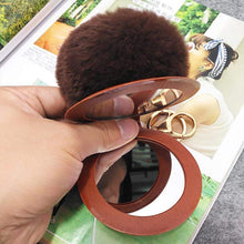 Kinky Cloth 200000174 Color 12 Puff Ball Mirror Key Chain